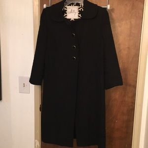 Milly Black Trench Coat